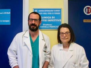 Dottoressa Francisci e collaboratore