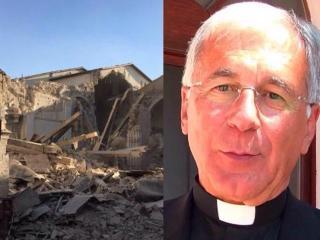 Vescovo spoleto in zona terremotata