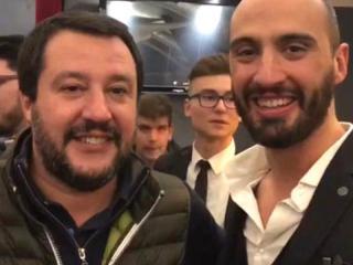 Salvini con Marchetti