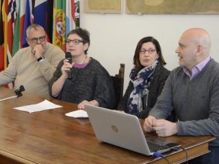 Michele Fioroni, Antonella Pignatelli, Maria Rosaria Corrado e Stefano Loschi