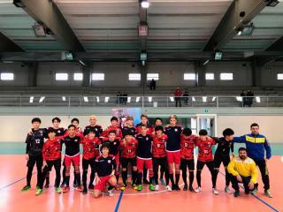 L'under 19 dell'Orvieto Fc e la rappresentativa giapponese