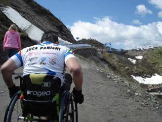 Luca Panichi al Giro d'Italia