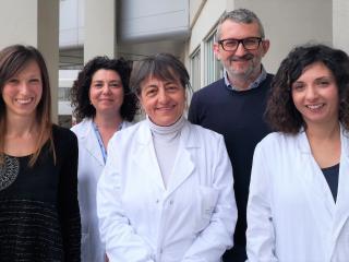 Lucia Parnetti e il gruppo di ricerca