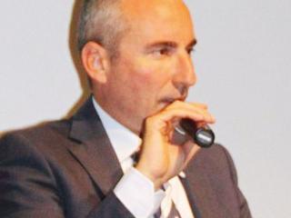 Marco Gasparri (foto Il Messaggero)