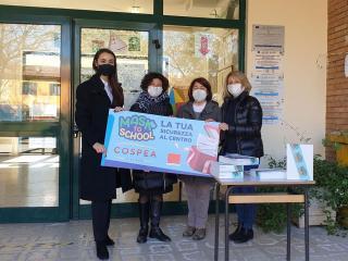 Mask to School al Cospea Village