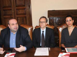 Luca Garosi, Fabio Raspadori e Diletta Paoletti