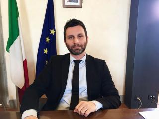 Il sindaco Matteo Burico