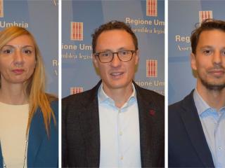 Simona Meloni, Michele Bettarelli e Tommaso Bori