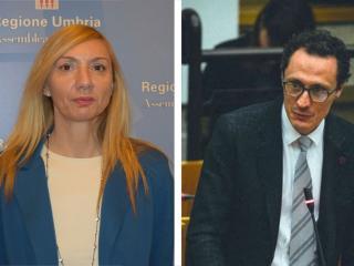 Simona Meloni e Michele Bettarelli