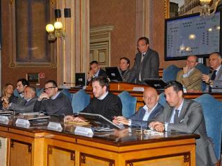 Mismetti in Consiglio Provinciale