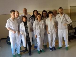 L'equipe della dr.ssa Massetti