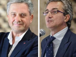I professori Franco Cotana e Maurizio Oliviero