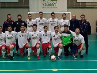 Orvieto Fc, la squadra maschile di calcio a 5