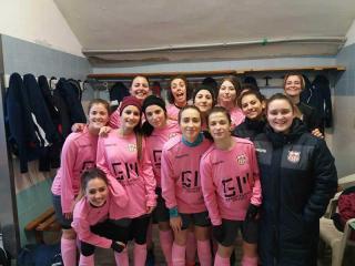 La squadra di calcio a 11 femminile dell'Orvieto Fc