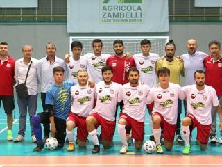 La squadra maschile dell'Orvieto Fc
