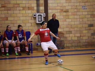 Alice Cochi, capitano della squadra femminile di calcio a 5