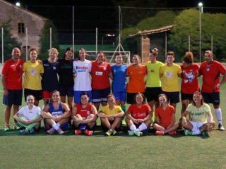 La squadra femminile dell'Orvieto Fc