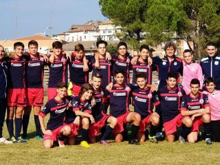 La squadra dei Giovanissimi del 2004