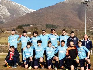 La squadra Juniores dell'Orvieto Fc