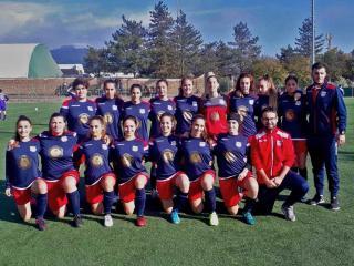 La squadra femminile di calcio a 11