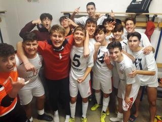 I ragazzi dell'Under 17 futsal