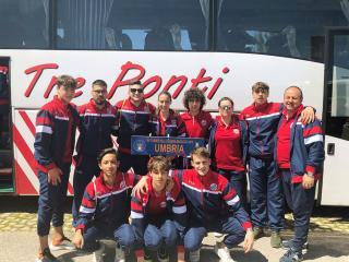 I ragazzi dell'Orvieto Fc al Torneo delle Regioni