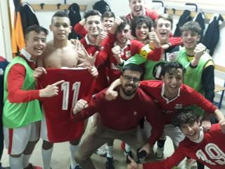 I ragazzi dell'Under 19 campioni regionali