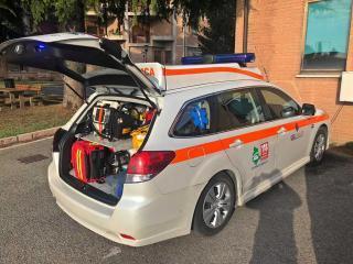 La nuova automedica dell'Ospedale di Assisi