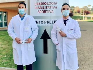 Il dr. Ugo Paliani e il dr. Andrea Cardona