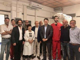 Inaugurazione della nuova radiologia