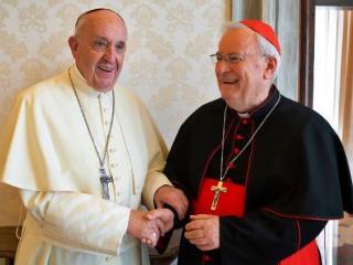 Papa Francesco con il Cardinale Bassetti (foto Vatican News)