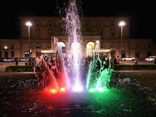 La fontana di piazza Vittorio Veneto (foto Belfiore)