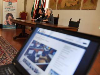 L'assessore Teresa Severini durante la presentazione
