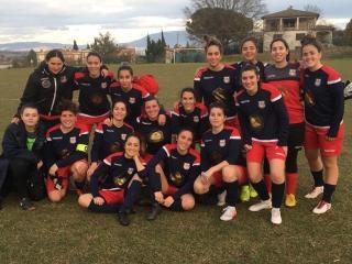 Prima squadra femminile dell'Orvieto Fc