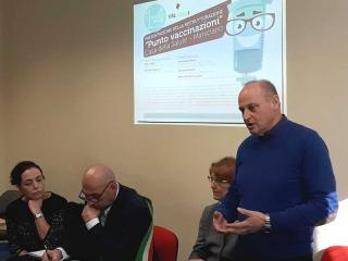 Da sinistra Poletti, Todini, Pinna e Casciari