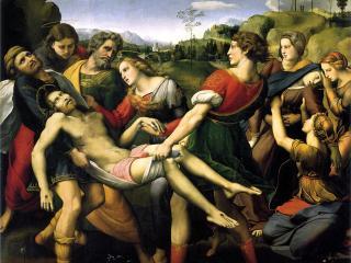 """La """"Deposizione"""" di Raffaello Sanzio"""