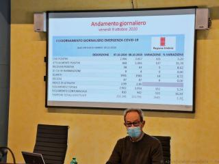 Il commissario regionale per l'emergenza Covid Antonio Onnis