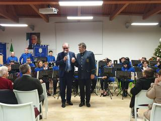 Franco Chianelli con il maestro Andrea Cavallucci Cavallacci