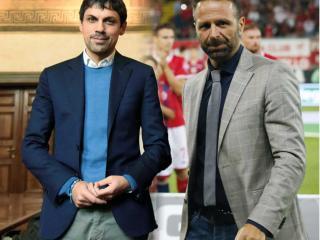 Il sindaco Romizi e il presidente del Perugia Calcio Massimiliano Santopadre