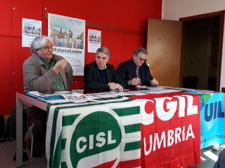 Ulderico Sbarra, Vincenzo Sgalla e Claudio Bendini