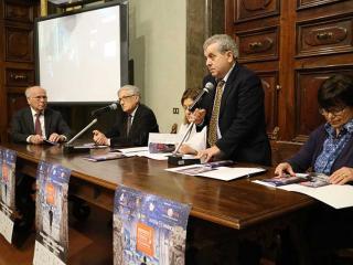 Il tavolo dei relatori a Palazzo Donini