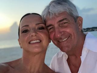 Paolo Rossi e la moglie Federica Cappelletti