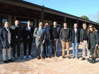I sindaci del Trasimeno con il sindaco di Norcia Alemanno