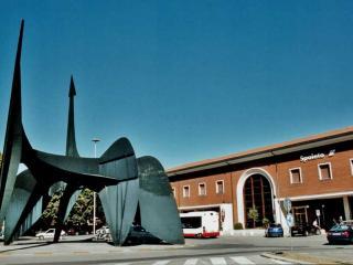 La stazione ferroviaria di Spoleto
