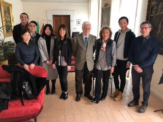 La delegazione cinese ricevuta a Palazzo comunale
