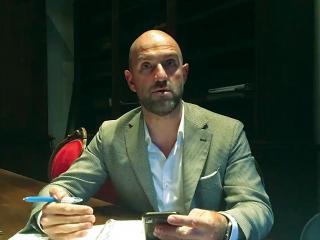 L'assessore Stefano Coppetti