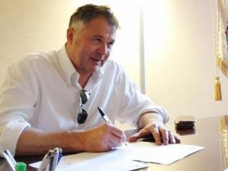 Il sindaco di Foligno Zuccarini