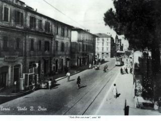 Terni, viale Brin negli anni '60 ( foto ternistoria.blogspot.com)