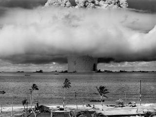 1946, test atomico Usa nell'atollo di Bikini