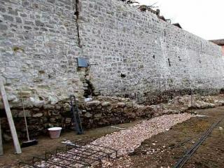 Mura urbiche in area San Carlo